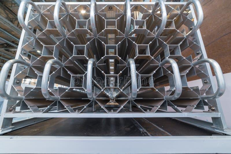 Potężny przemysłowy kriogeniczny ewaporator obraz stock