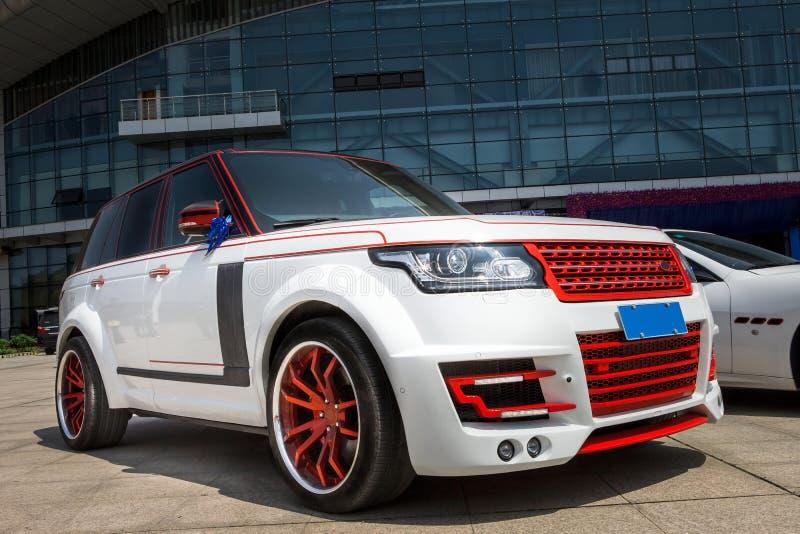 Potężny SUV zdjęcia royalty free