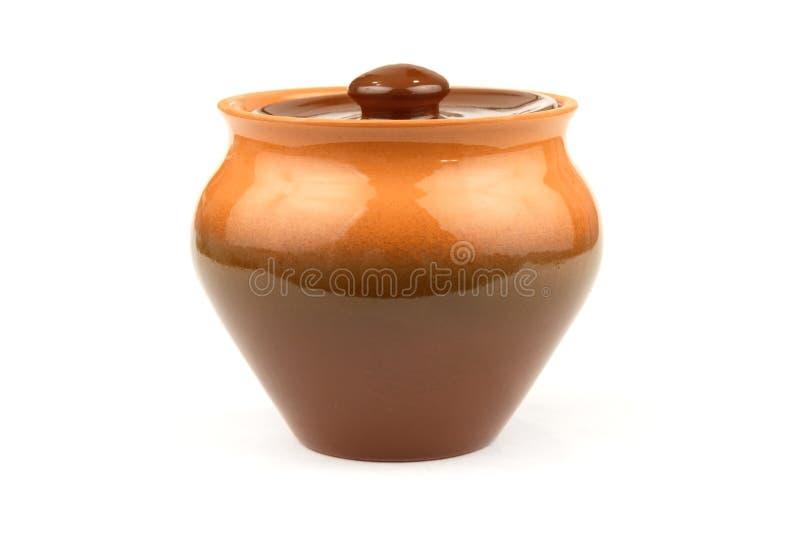 Download Pot stock photo. Image of white, utensil, ceramics, brown - 2321174