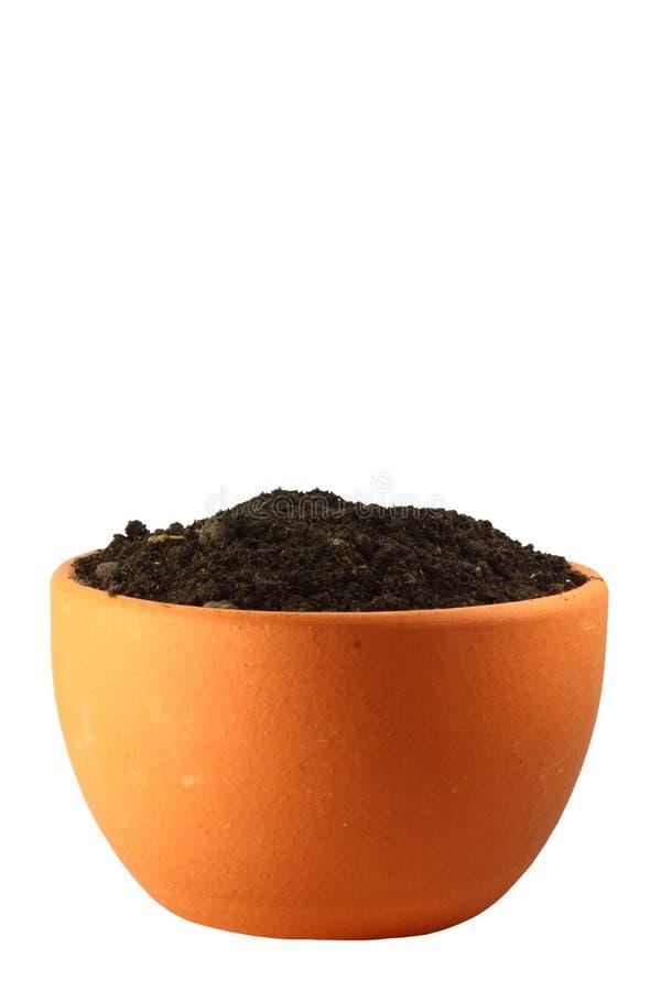 Download Pot stock photo. Image of environmental, dirt, copyspace - 7877602