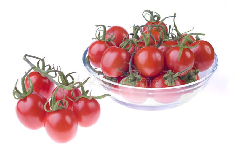 Download Pot with cherry tomatoes stock image. Image of vibrant - 11909645