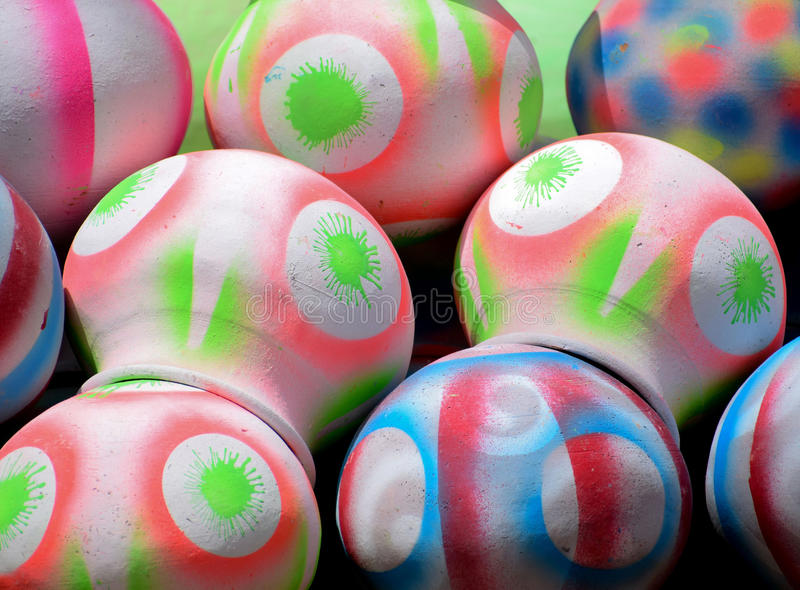 POT Colorful immagini stock