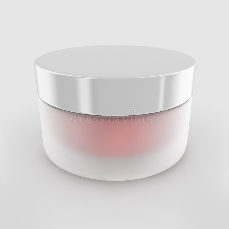 Pot crème de beauté illustration stock