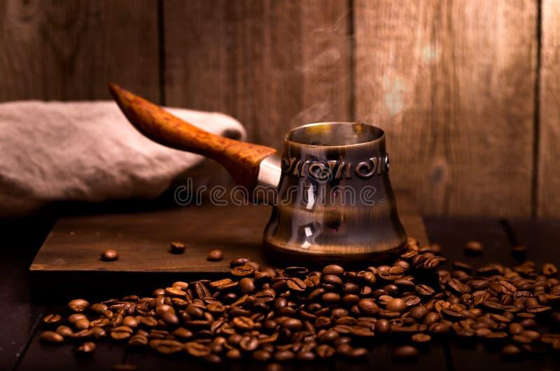 Pot de brassage de café photos libres de droits