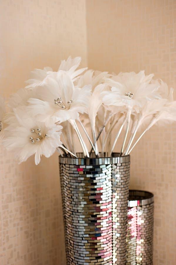 POT decorato immagine stock