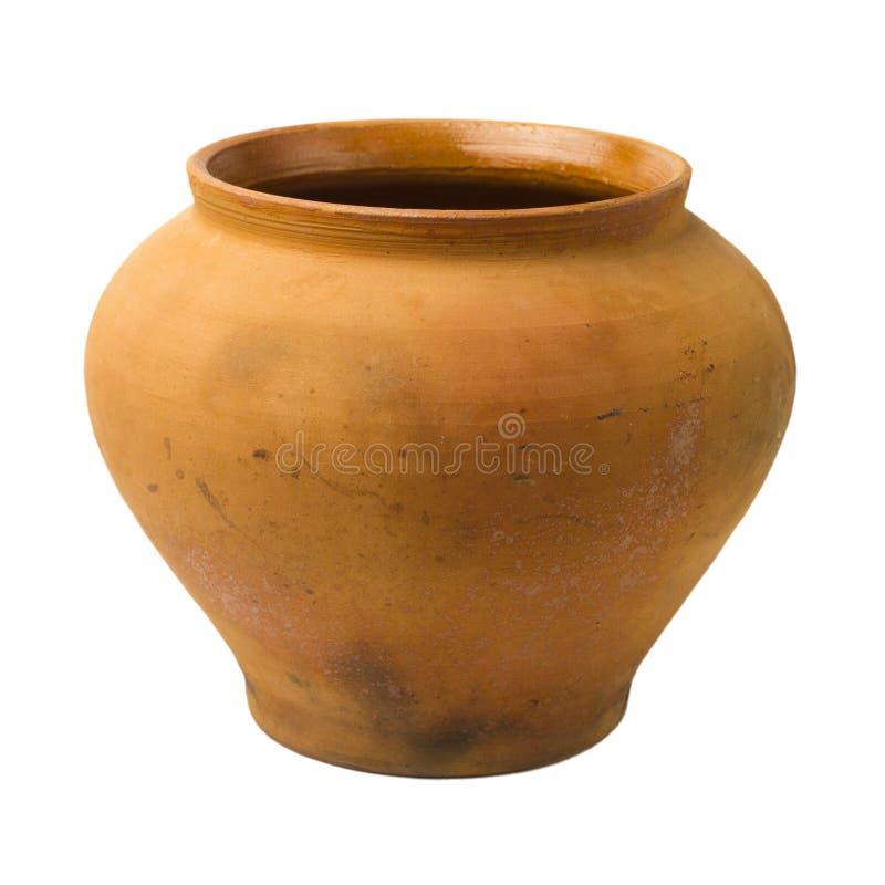 POT di ceramica dell'annata immagini stock libere da diritti