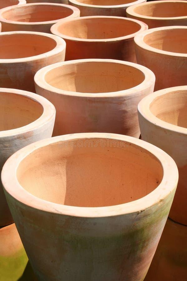 POT di terracotta immagine stock