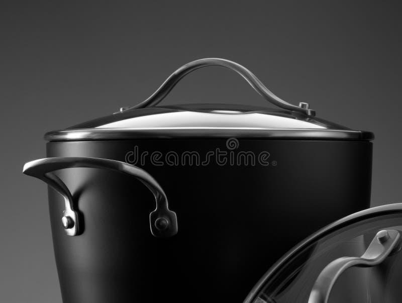 Pot fragment stock image