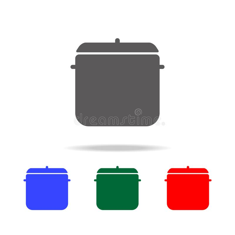 Pot Icon. Elements of cooking multi colored icons. Premium quality graphic design icon. Simple icon for websites, web design, mobi. Le app, info graphics on stock illustration