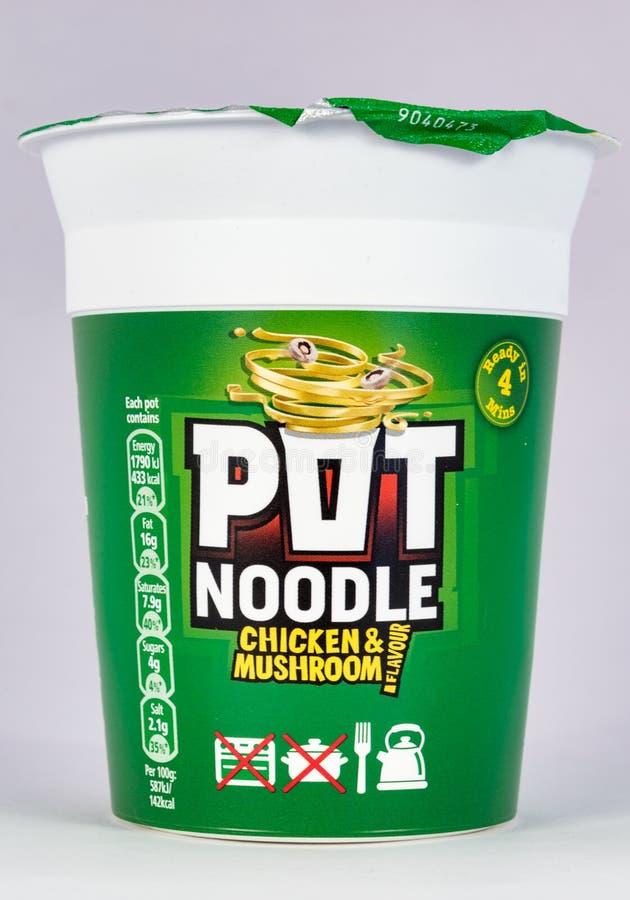 Pot Noodle royalty free stock photo