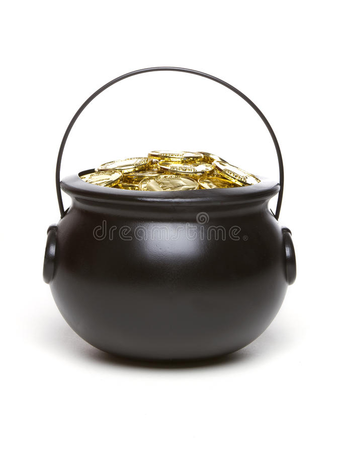 Free Pot Of Gold Stock Images - 13078094
