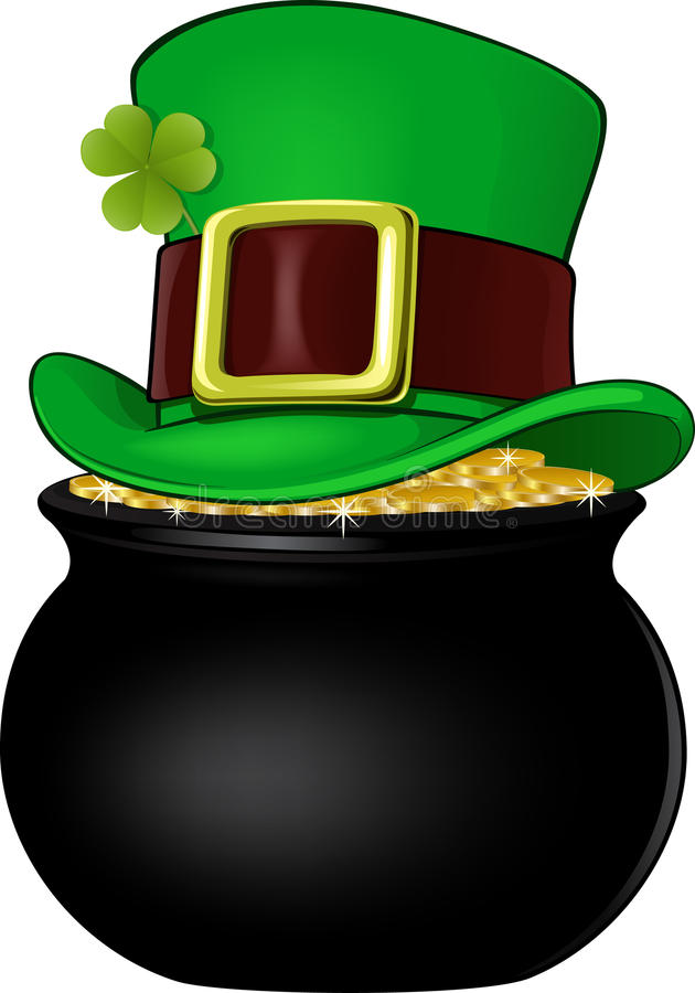 Free Pot Of Gold Stock Image - 36413621