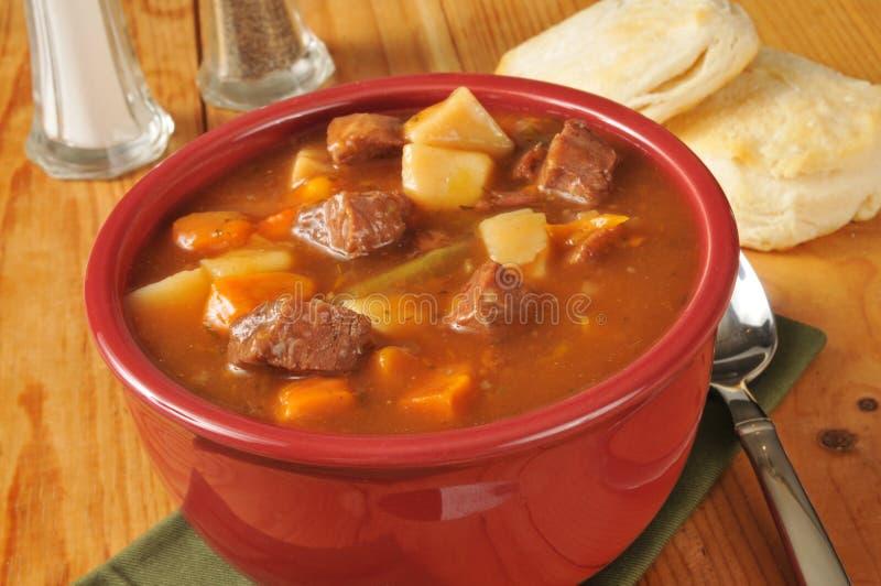 Pot roast soup royalty free stock photos