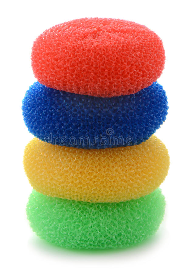 Pot Scrubbers Royalty Free Stock Photography