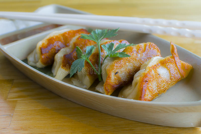 Pot Stickers stock images