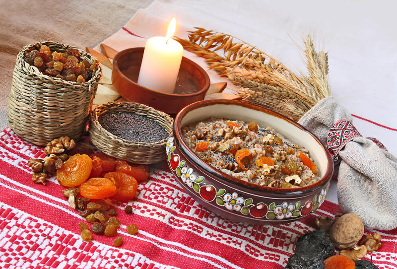 Download Pot With Traditional Christmas Porridge Stock Photo - Image: 22530734