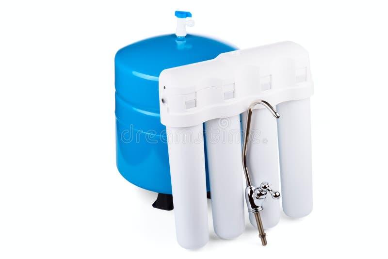 potable systemvatten för filtration arkivbild