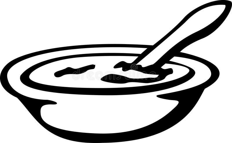 Potage illustration stock