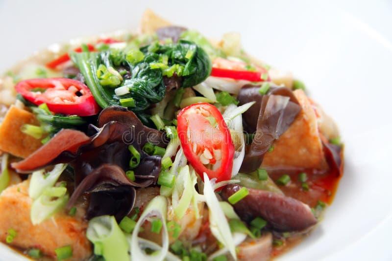 Potage aux légumes mélangé photo stock