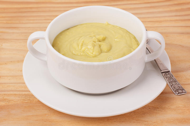 Potage crème végétal images stock