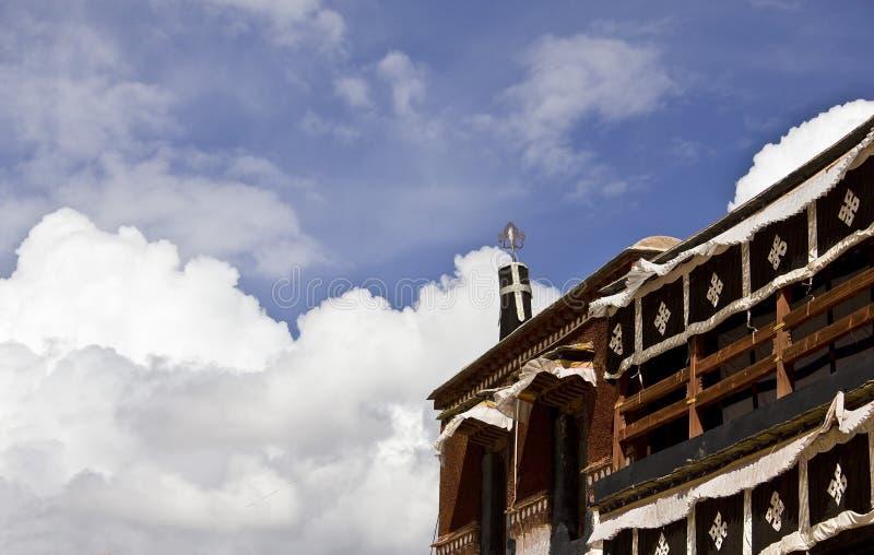 potala Θιβέτ παλατιών λεπτομέρε στοκ φωτογραφίες