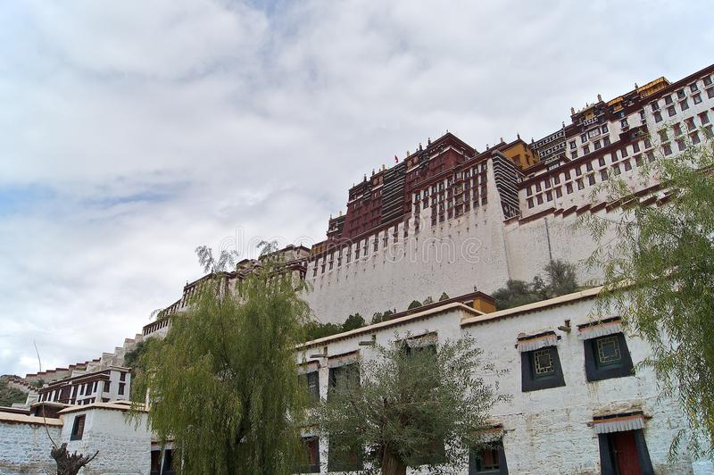 potala παλατιών στοκ εικόνες