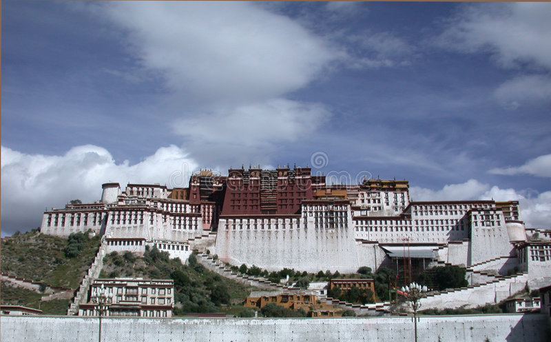 Potala images stock