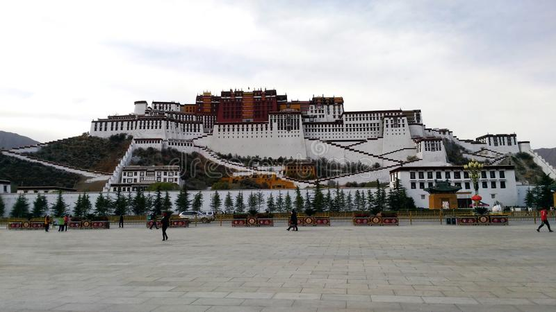 The Potala royalty free stock photo