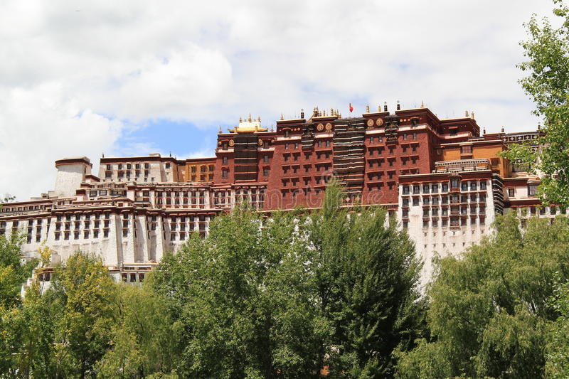 Download Potala Palace stock image. Image of architecture, buddhist - 27210599