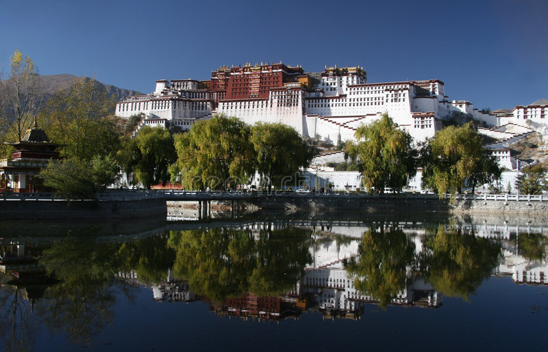 Download Potala Palace stock photo. Image of landmark, culture - 5231940