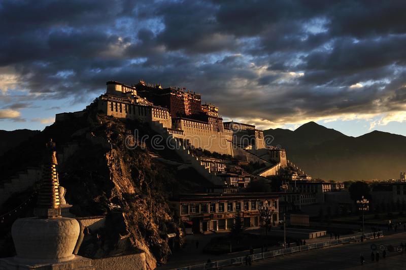 Potala Palace in the morning