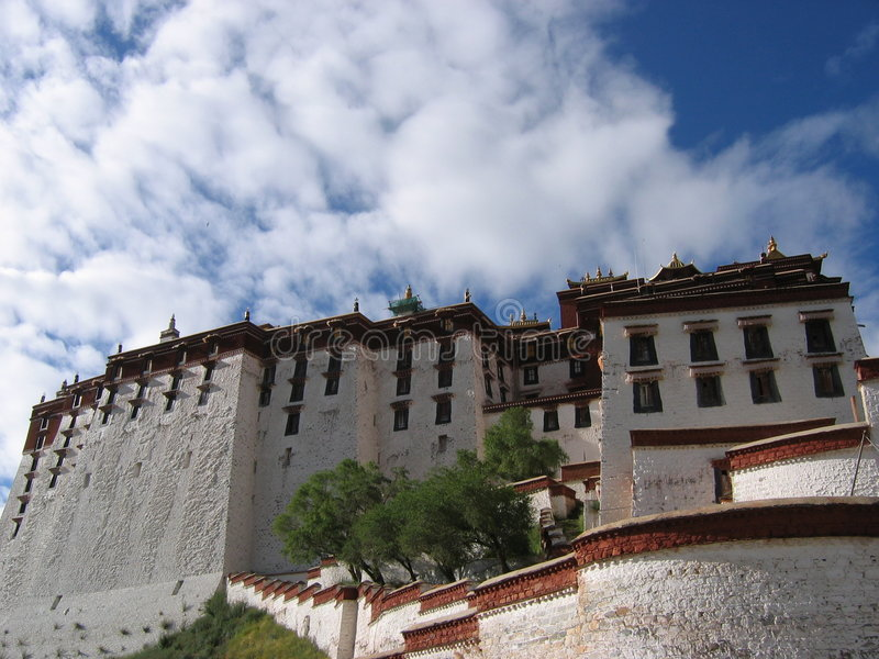 Potala Palace Sky stock photos