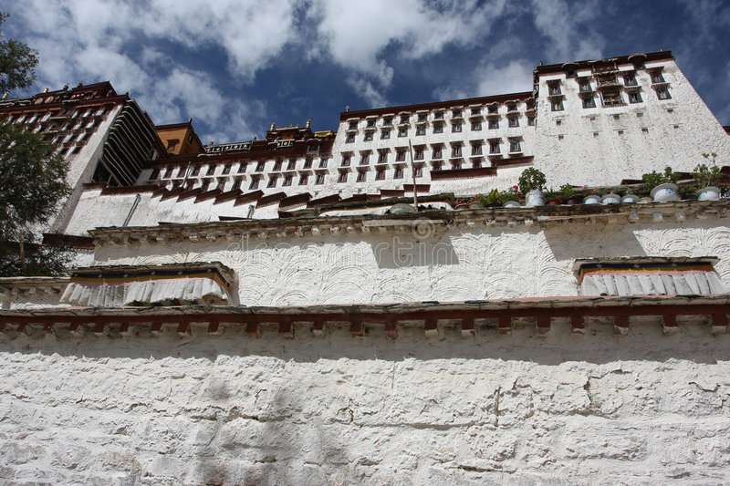 Download Potala  temple stock photo. Image of ancient, architecture - 5373354