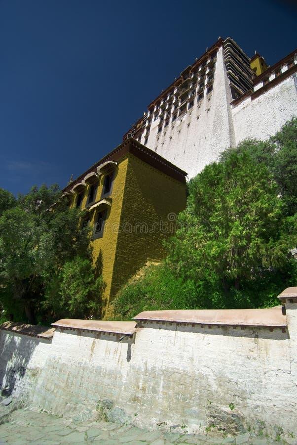 potala Tibet pałacu. zdjęcia stock