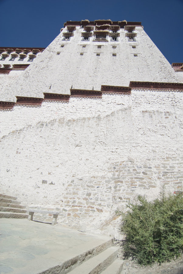 potala Tibet pałacu. obrazy royalty free