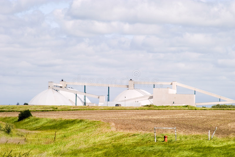 Potash Mine stock image