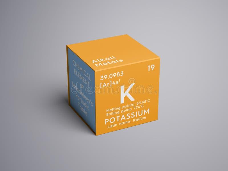 Potassium kalium alkali metals chemical element of mendeleevs download potassium kalium alkali metals chemical element of mendeleevs periodic table urtaz Choice Image