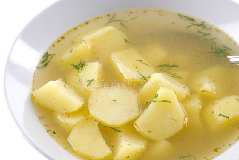 potatissoup arkivbild