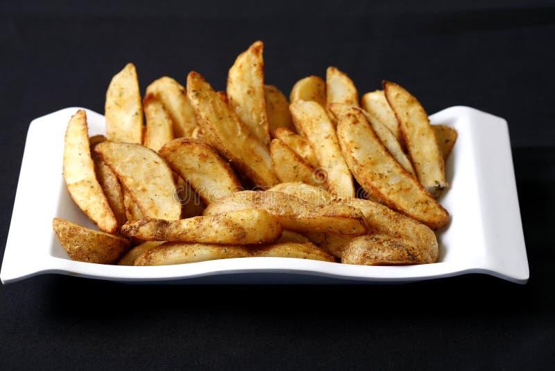 potatiswedges arkivbild
