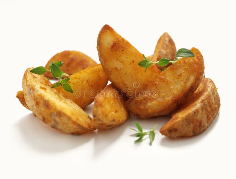 potatiswedges arkivfoto