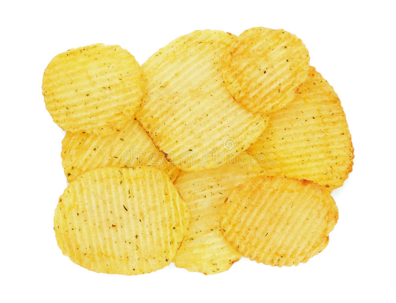 Download Potato chips stock image. Image of closeup, fast, close - 17636203