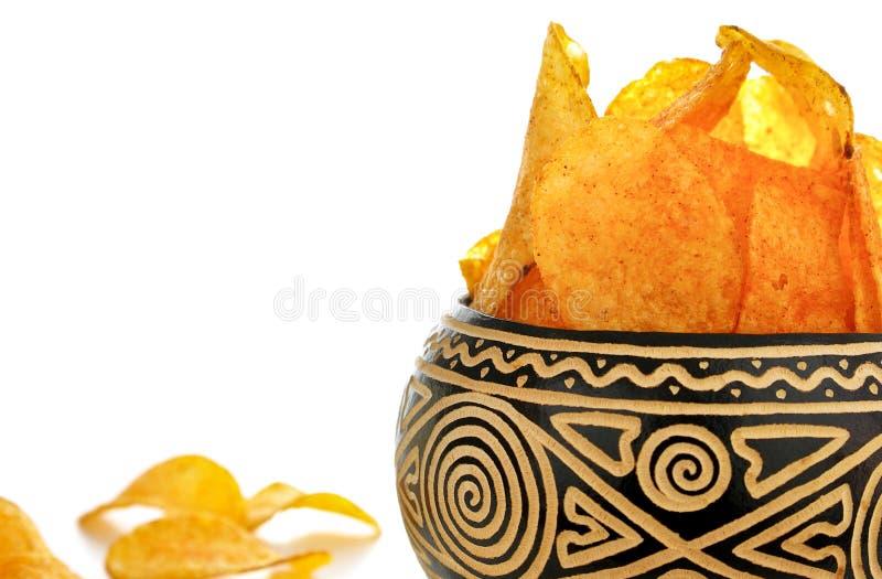 Download Potato chips stock photo. Image of aliment, orange, pepper - 22213718