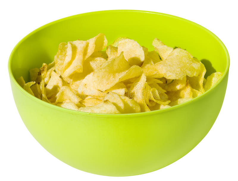 Download Potato chips stock photo. Image of temptation, crisp - 24454276