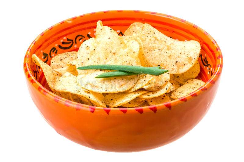 Download Potato chips stock photo. Image of fried, crunchy, background - 39504542