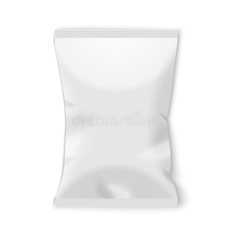 Free Potato Chips Plastic Packaging. Royalty Free Stock Photo - 46484435