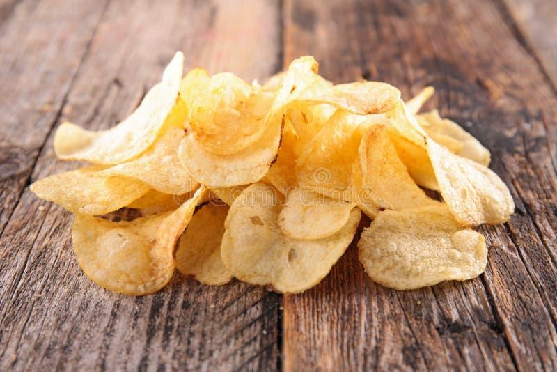 Potato chips royalty free stock photos
