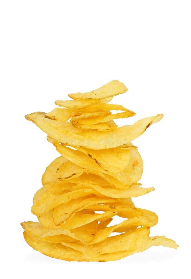 Free Potato Crisps Royalty Free Stock Photography - 28882657
