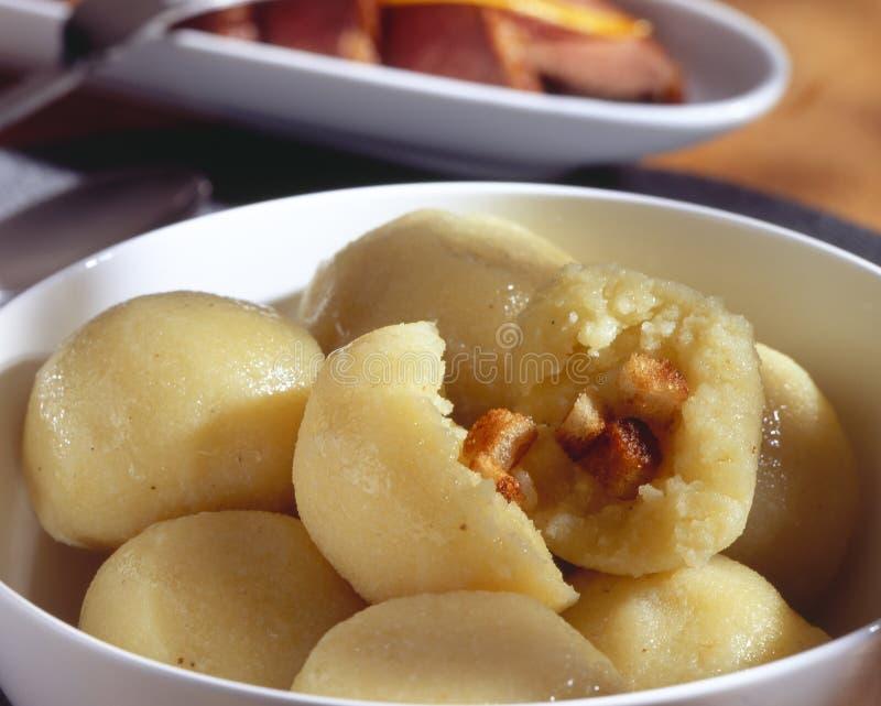 Potato dumpling royalty free stock photo