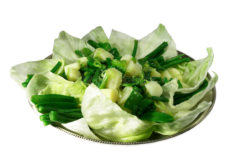 Download Potato And Green Bean Salad Stock Image - Image: 73347