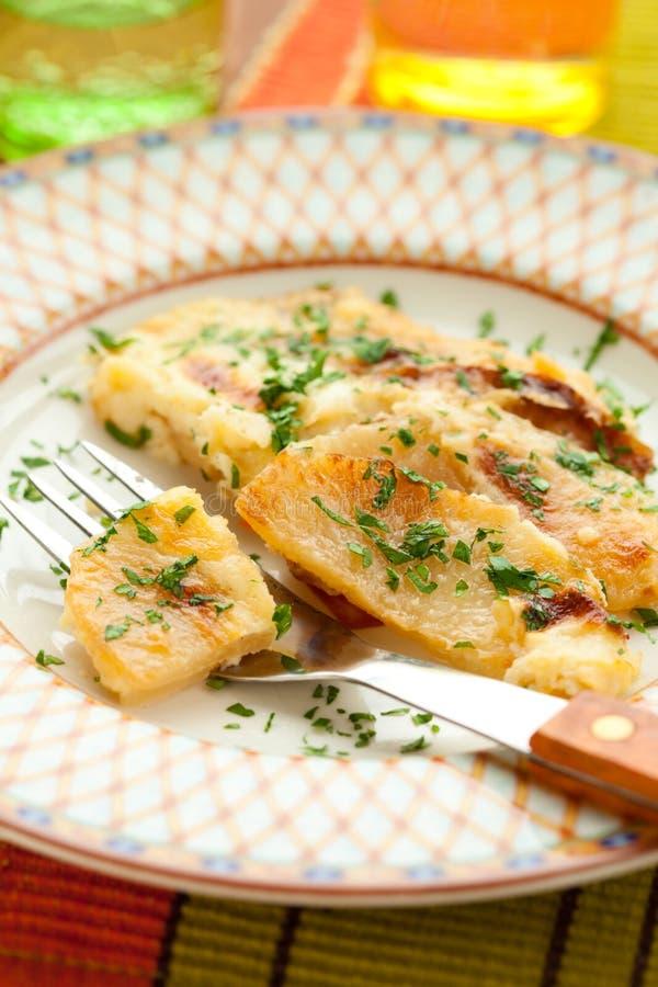 Download Potato and kohlrabi gratin stock image. Image of dish - 14852259